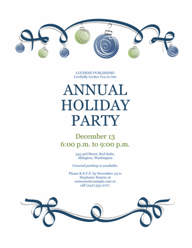 holiday-party-invitation-with-blue-and-green-ornaments-formal-design_010248063