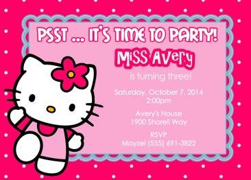 Printable-Hello-Kitty-Invitation-Cards
